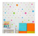 StickieArt - Pattern: Mixed Polka Dots - Wall Decal - Large - 60 x 90 cm - STA-434