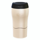 Mighty Mug Solo Plastic-Cream