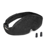 Cabeau Black Midnight Magic Sleep Mask