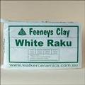 Clay - White Raku