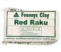 Clay - Red Raku