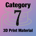 Design-3D Printer Material Category 7