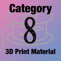 Design-3D Printer Material Category 8