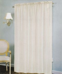 "Voile Windows Curtains / Drapes Panel 58"" x 90"" - Taupe"
