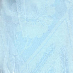 NEW Window Curtains / Drapes Set + Valance + Lace Liner - LIGHT BLUE