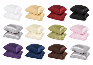 Satin Pillow Case  King Size