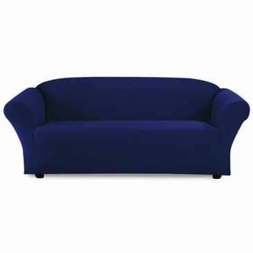 Orly's Dream Stretch Sofa Slipcover, 1 Piece Sofa Bed Cover, Sofa Covers, Furniture Slipcover, Spandex Slipcovers (Navy Blue)