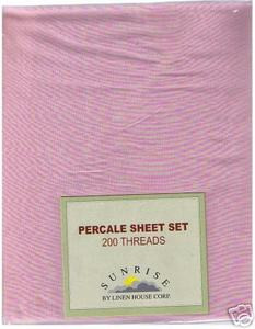 KING 2009/10 new collection 4 pc PERCALE SHEET SET 618