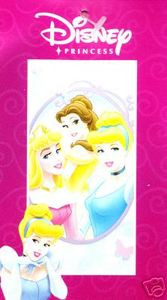 BRAND NEW Disney PRINCESS Bath / Beach / Pool Towel 498