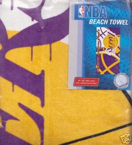 BasketBall LA Angeles LAKERS NBA Bath/Beach/Pool Towel