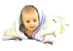 Baby Robe dressing Gown MINK PLUSH SUPER SOFT w/ Zipper