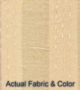 Window Curtains/Drapes Set Tab Headings+TieBacks -Peach