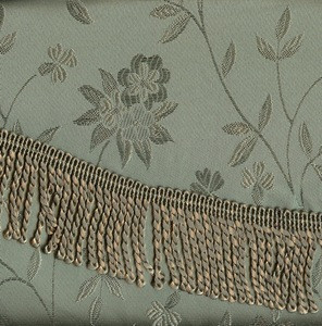 BLACKOUT Curtains Drapes attached Valance Liner - Sage