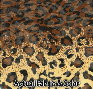 Sofa Loveseat Chair Slipcover slip cover Set - Leopard