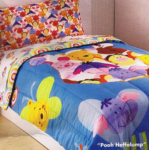 BRAND NEW! - Twin Winnie the Pooh Comforter Set  3 pc.