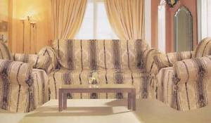Sofa Loveseat Chair Covers/Slipcovers 3pc. Set - Gold