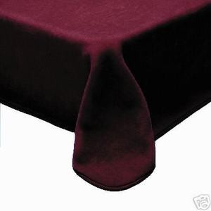 QUEEN Korean Made Plush Raschel Blanket -Solid Burgundy