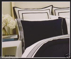 Over Size KING 6 pc Navy Blue HOTEL COLLECTION Bed Bedding NAUTICA Comforter Set