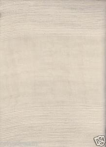 "New Premier Collection Elegant 2 Panels Curtain / Drape Set ""Carla"" - BEIGE"