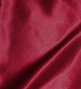 "SOFT ""SILK"" SATIN / SATEEN PILLOW CASE / COVER-BURGUNDY"