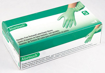 Aloetouch® Professional PF Latex Gloves, $8.97 per 100 gloves, 10 boxes of 100 per case