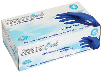 Cool Nitrile Exam Glove, $4.99 per 100 gloves, 10 boxes of 200 per case