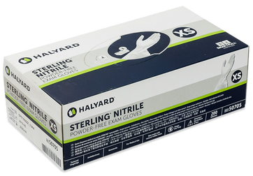 Halyard Sterling Nitrile Exam Glove Box