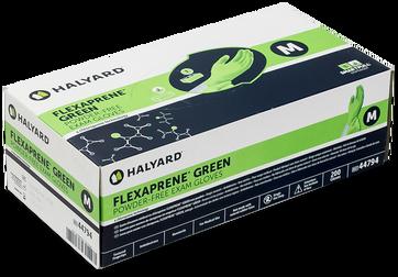 Halyard Flexaprene Green Exam Glove box