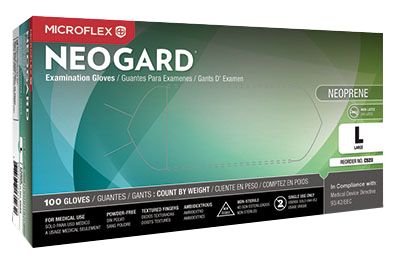 Neogard Neoprene exam gloves by Microflex®