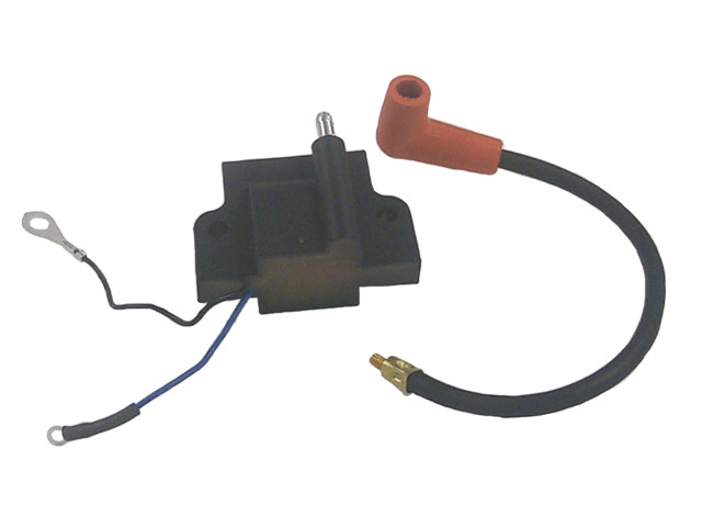 584632 582160 Johnson Evinrude Ignition Coil 85 Hp 1977 Model 6 Amp 4 Cyl WSM 183-4632 OEM# 18-5194 802373 502890
