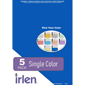 5 Pack Colored Overlays (single color) ONLINE EXCLUSIVE