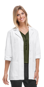 Cherokee Three Quarter Sleeve Antimicrobial Lab Coat