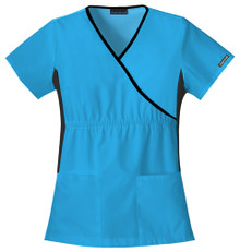Cherokee Flexibles 2500 : Mock Wrap Scrub Top For Women*