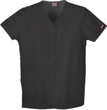 Cherokee Workwear : Snap Front  Scrub Top For Nurses*