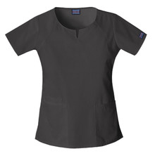 Cherokee Workwear : Round Neck Scrub Top For Women*