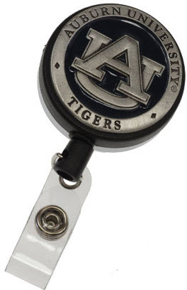 Auburn Retractable Badge Reel