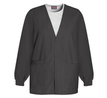 Cherokee Workwear : Button Up Nursing Scrub Jacket For Women 4301*