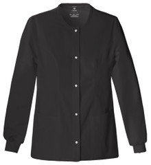 Cherokee LUXE : Snap Front Warm Up Jacket For Women*