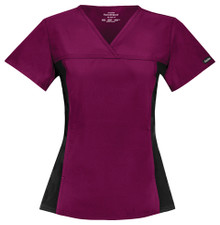 Cherokee Flexibles :  V Neck Scrub Top For Women 2874*