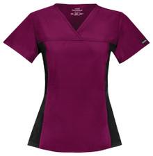 Cherokee Flexibles :  V Neck Scrub Top For Women 2874*