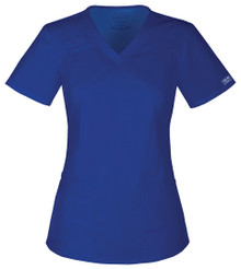 Cherokee Core Stretch 4710 : V Neck Premium Core Stretch Scrub Top For Women*