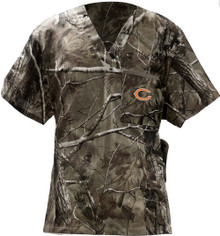 Chicago Bears Real Tree Men's NFL Scrub Top