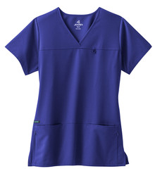 Jockey Women's 2299 6 Pocket Jewel Neck Scrub Top*
