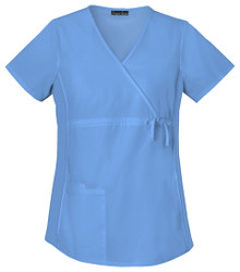 Cherokee Flexibles Maternity Mock Wrap Scrub Top*