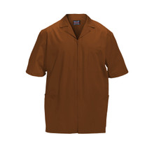 Cherokee Workwear Scrub Top For Men with Zipper Front*