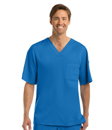 Grey's Anatomy : Mens 0103 Solid Scrub Top*