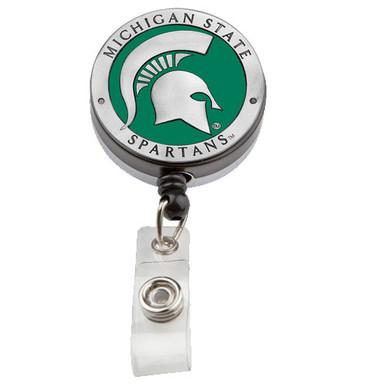 Michigan State Retractable Badge Reel