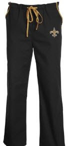 New Orleans Saints NFL Scrub Pants