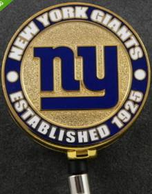 New York Giants Retractable NFL Badge Reel