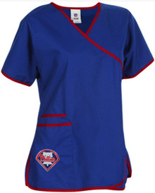 Philadelphia Phillies Women's MLB Scrub Top